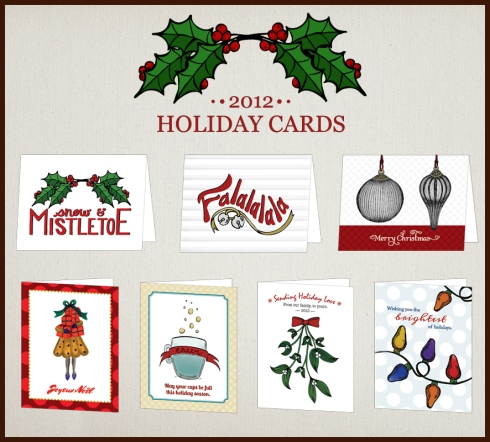 Hennel Paper Co. Holiday Cards 2012
